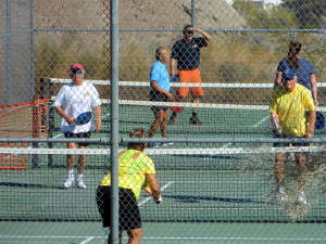 Pickle Ball games in Palm Desert